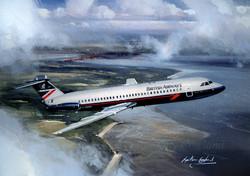 BAC 111 British Airways