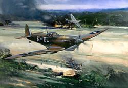 Supermarine Spitfire Mk.VIII. 54 Sqn RAF
