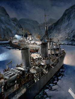 HMS Cossack and Altmark. Norway