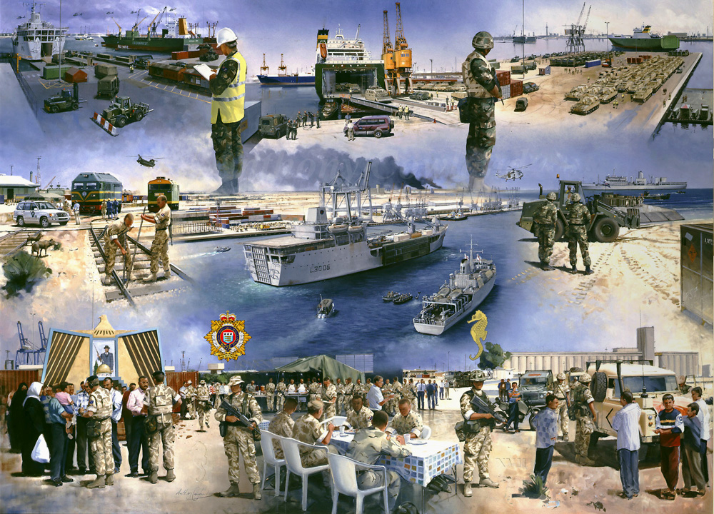 17 Port & Maritime Regt. Op TELIC