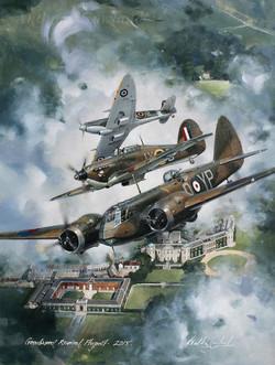 Bristol Blenheim, Hawker Hurricane &Spitfire
