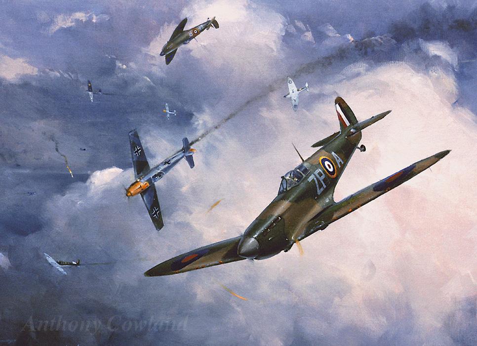 Supermarine Spitfire Mk1. 74 Sqn RAF