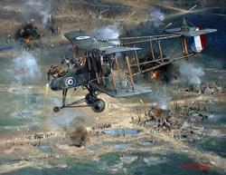 Capt J Day over Memetz, France