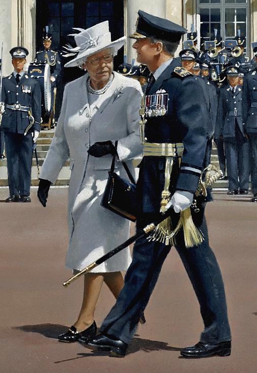 HM Queen Elizabeth