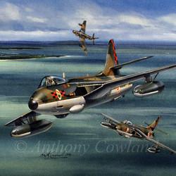 Hawker Hunter Singapore Air Force