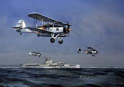 Fairey Swordfish. HMS Glorious