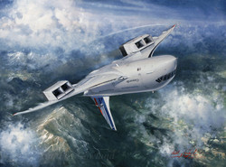 Concorde. Test flight rolling