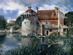 Dragonflies at Scotney Castle Kent