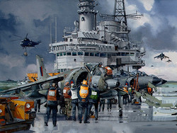 HMS Hermes 1982