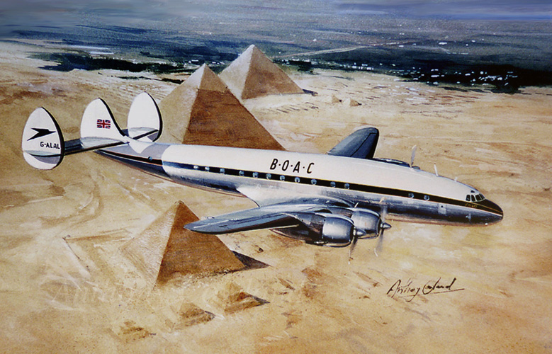 Lockheed Constellation BOAC
