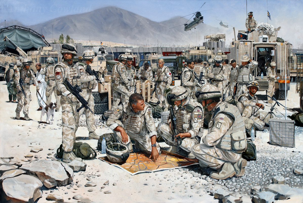101 Log Bde. FOB Edinburgh. Helmand Province