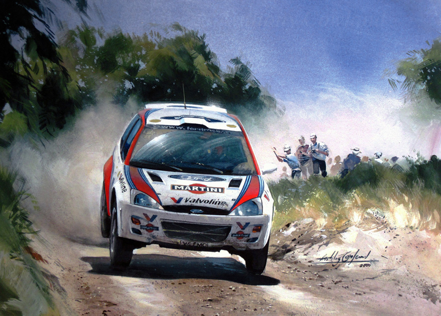 Ford Focus. Rally Greece