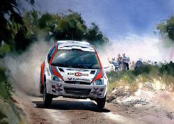 Ford Focus. Rally Greece