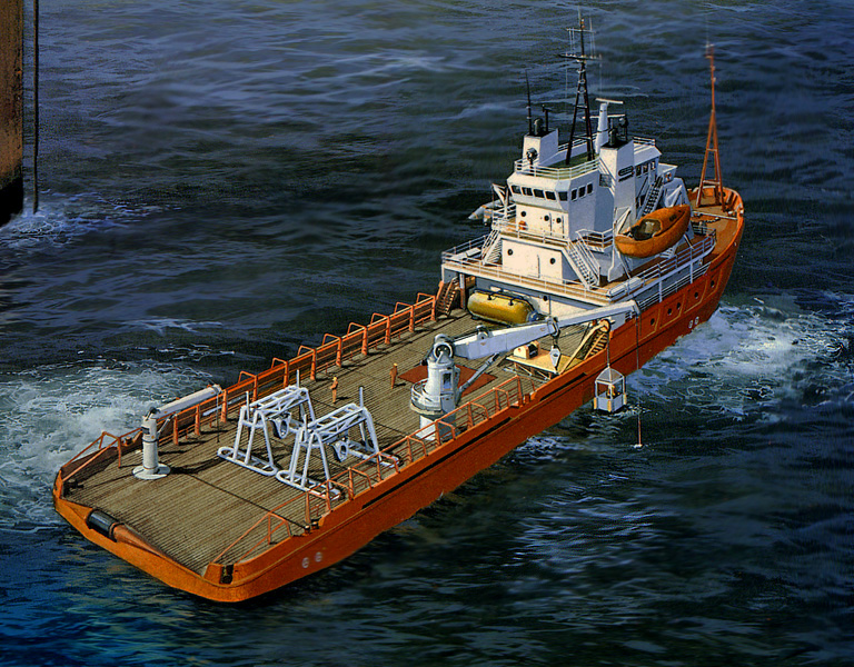Highland Challenger oil rig tender