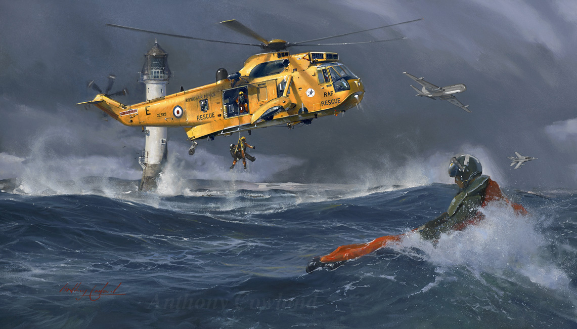 RAF SAR Sea King