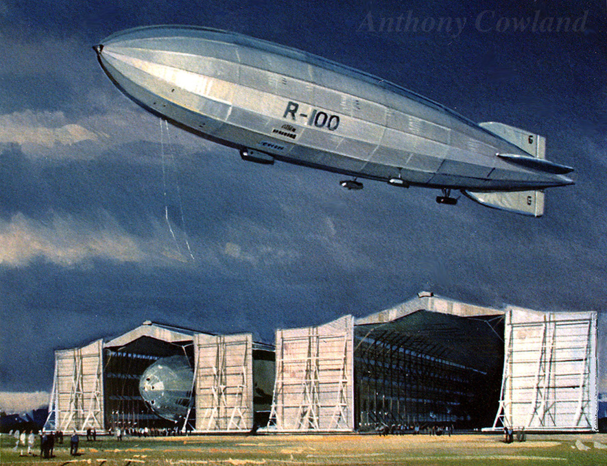 Airship R100 at Cardington
