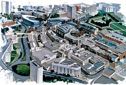 Bristol scheme aerial view