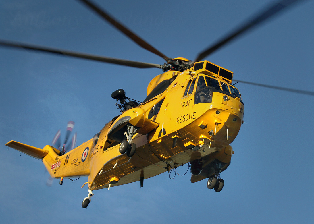 SAR Sea King. Falklands