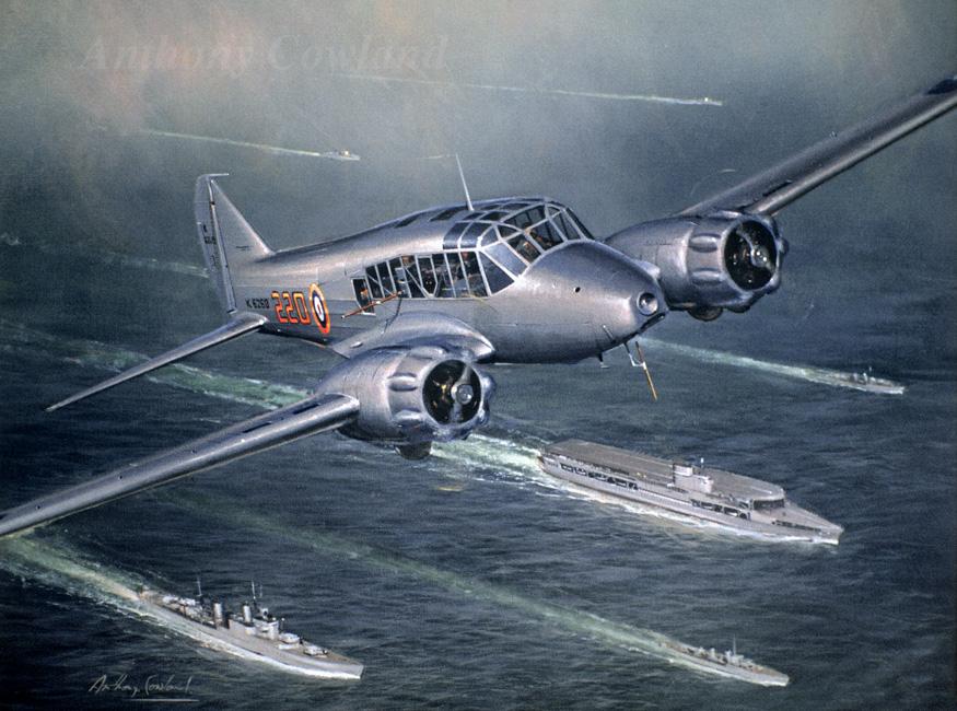 Avro Anson Radar trials