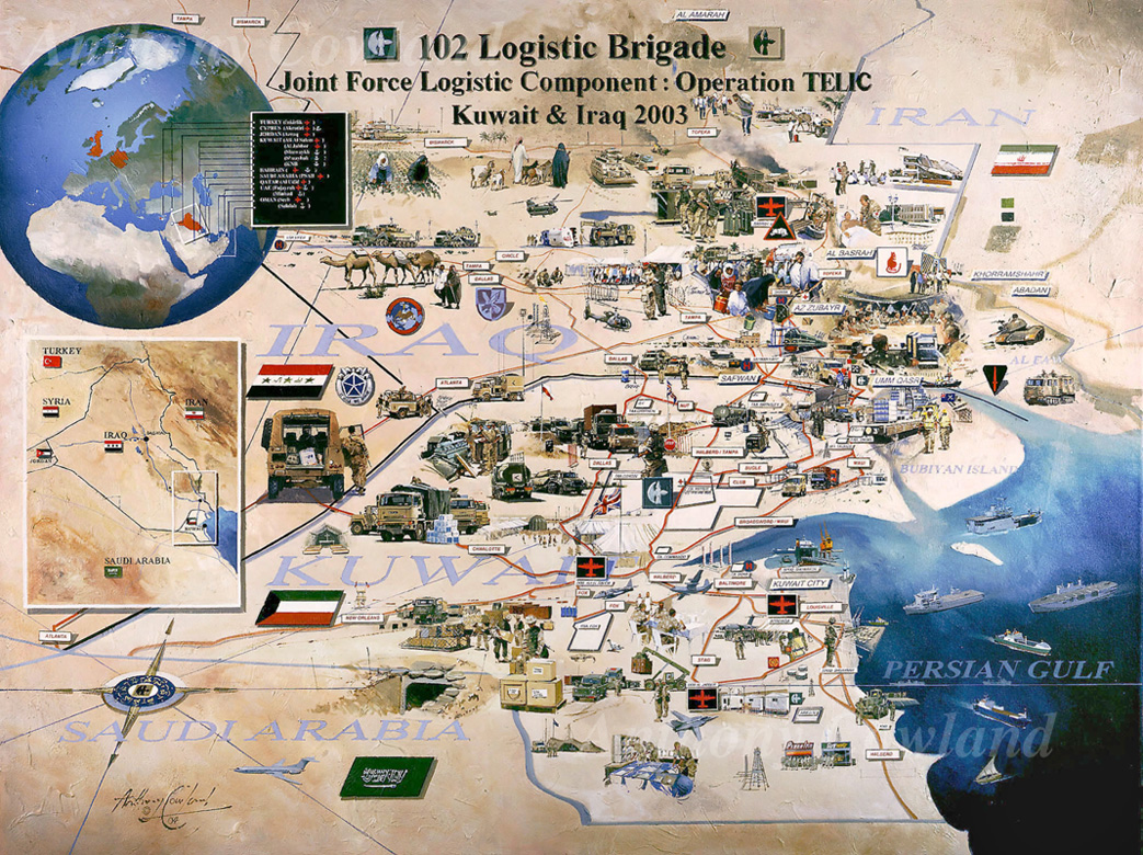 Iraq.102Log.Map Op TELIC
