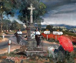 Roadside Cross, France