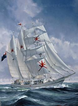 Omani sail training ship