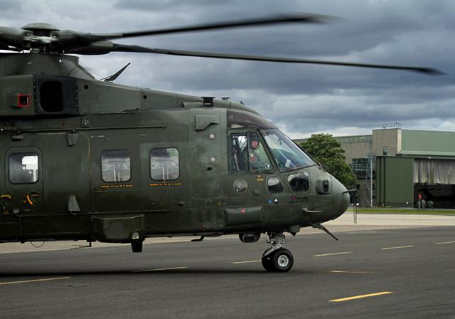 Merlin at RAF Benson