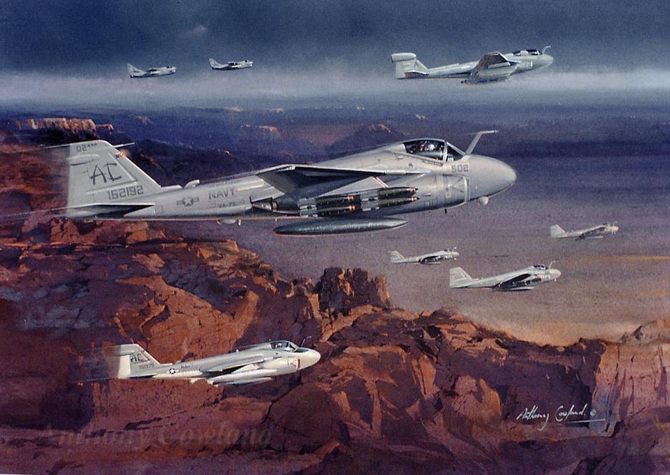 Grumman A-6 Intruder (GulfWar1)