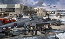 RAF BENSON mosquito