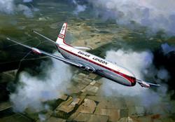 De Havilland Comet. Dan Air