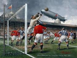 Graf Zeppelin over Wembley Stadium