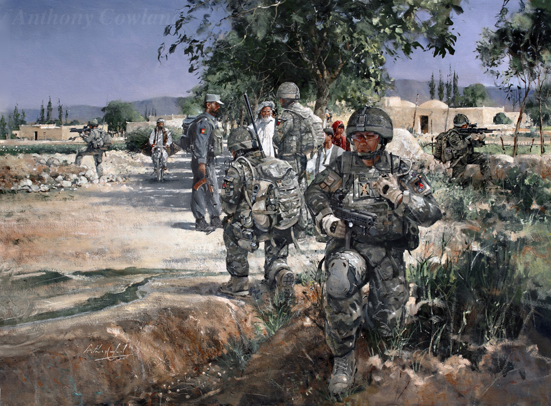 4 Scots Regt. Helmand Province Afghanistan