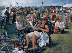 Shoreham Airshow crowd