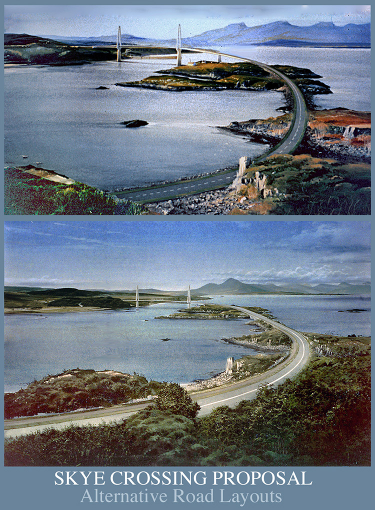 Skye Crossing road layouts