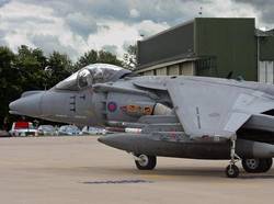 BAe Harrier GR9 at RAF Cottesmore