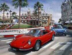 Ferrari Dino. Monaco
