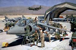 BAe Harrier GR9. Kandahar Airport