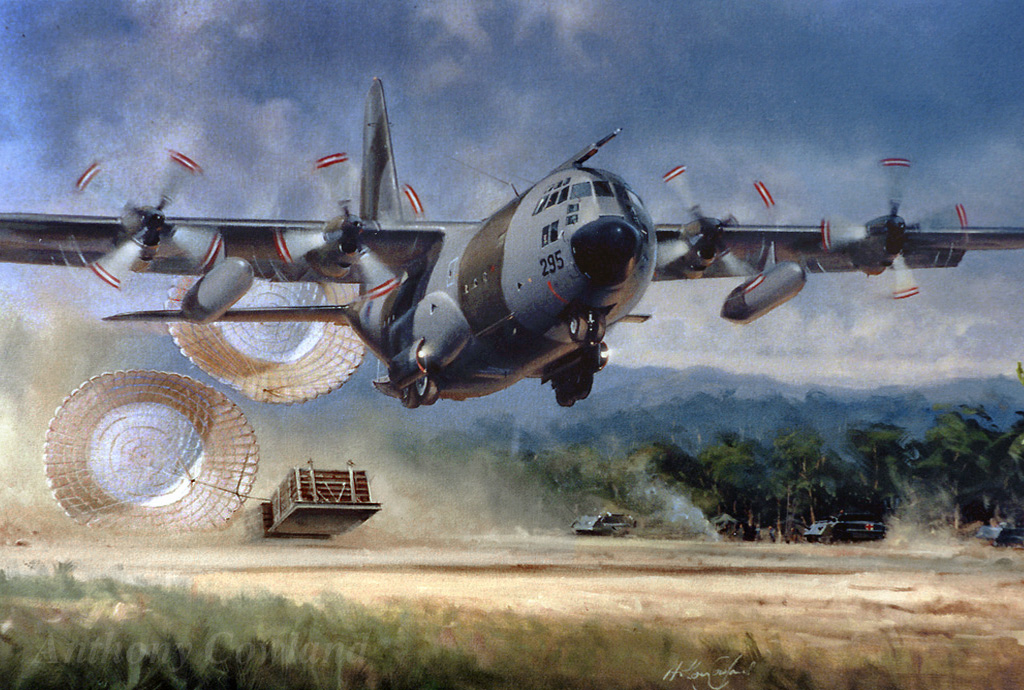 Lockheed Hercules. Load Gone (Borneo)