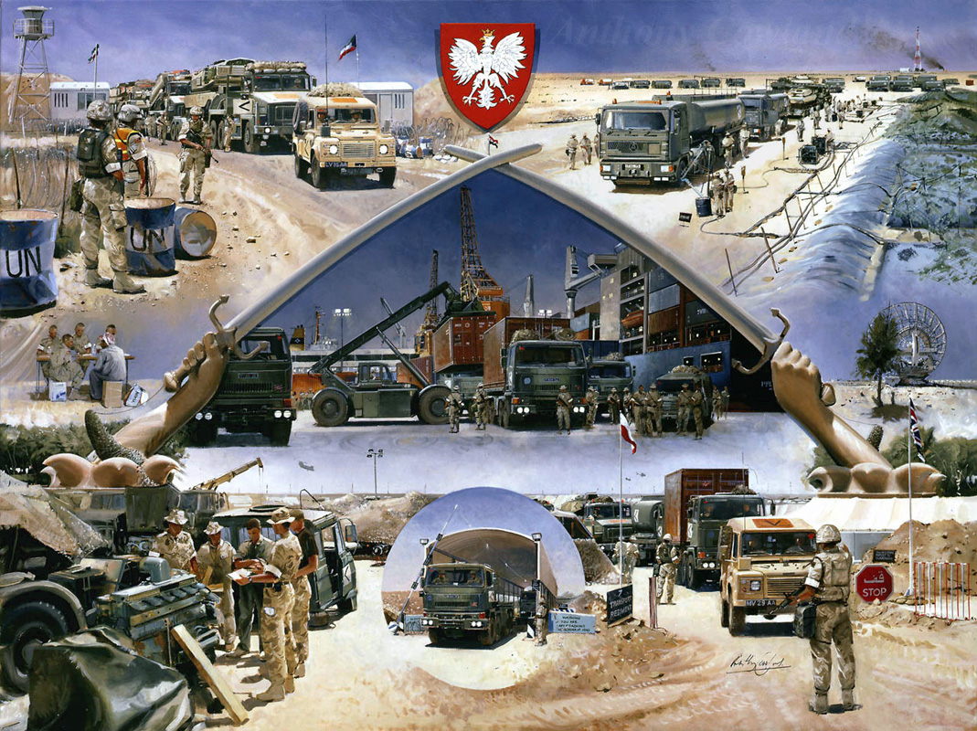 7 Transport Regt Op.TELIC Iraq