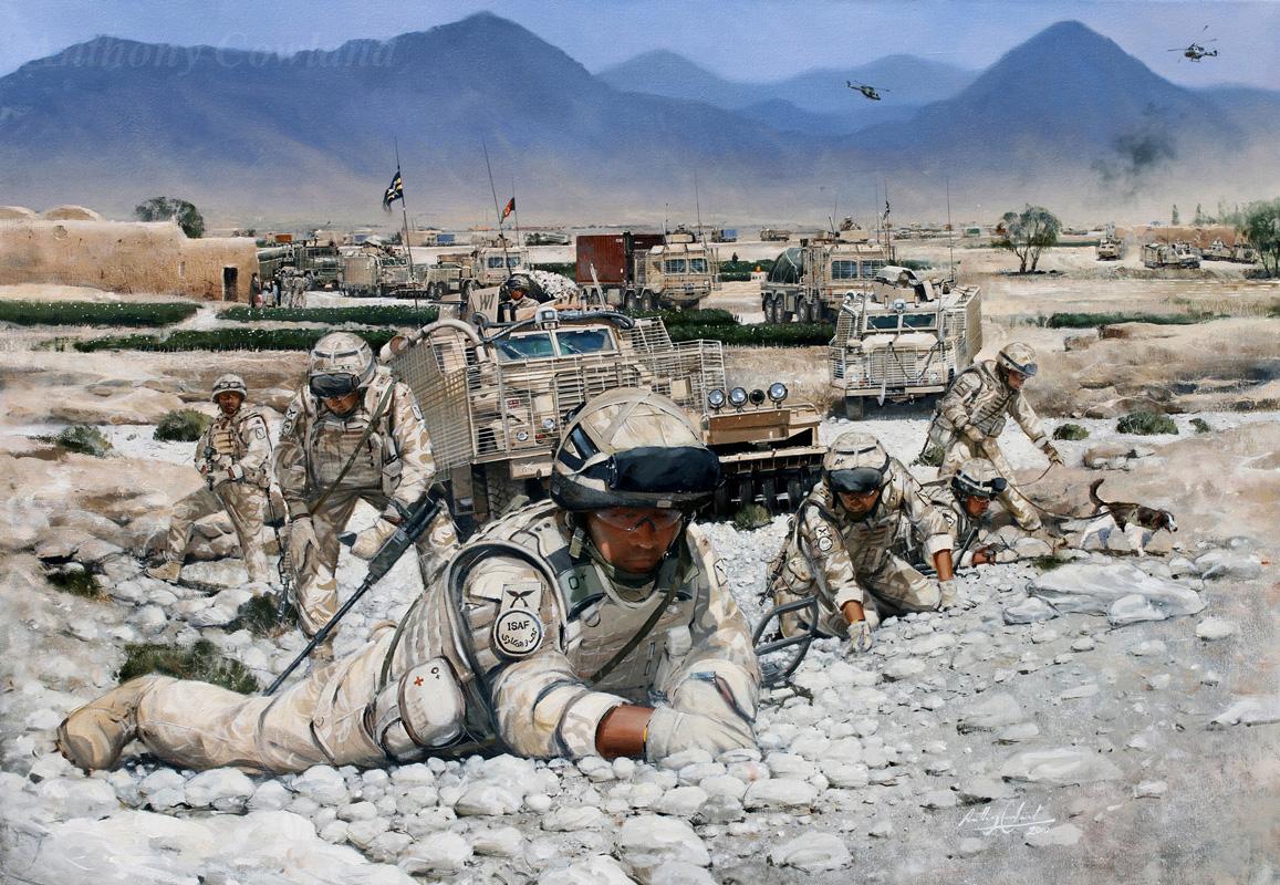 Combat Logistic Patrol Op HERRICK 11