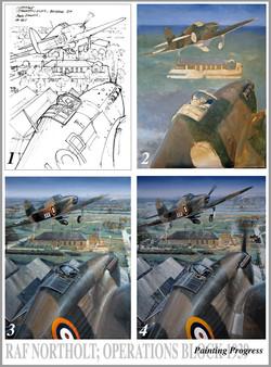 RAF Northolt 1939 progress