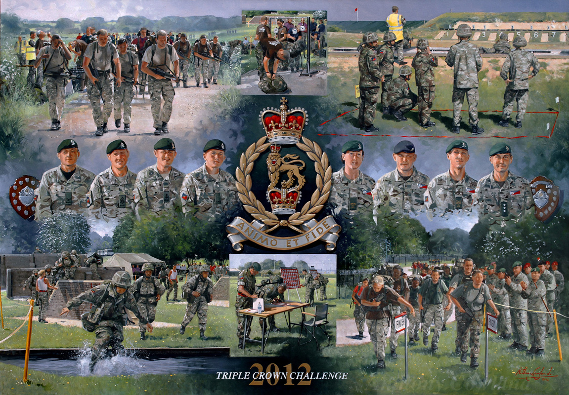 Adjutant Generals Corps. Triple Crown Challenge