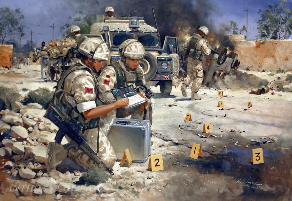 Royal Military Police. Iraq