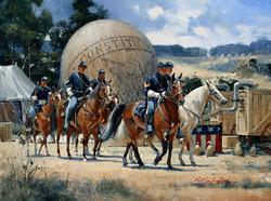Thaddius Lowe's balloon 1867