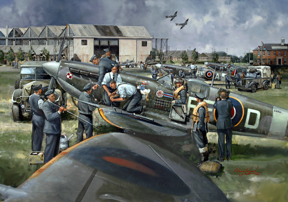 Spitfire Mk Vb. 303 (Polish) Squadron