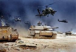 Apache & M1 Abrams Desert Storm