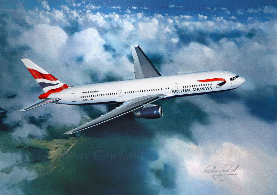 Boeing 767 British Airways