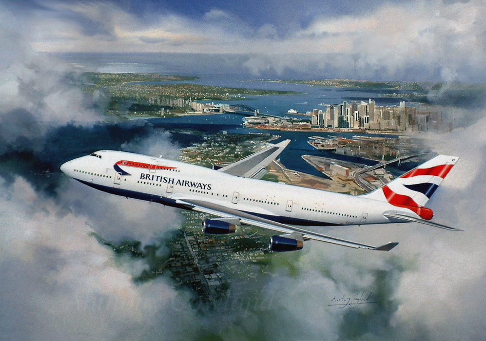 Boeing 747.400  British Airways