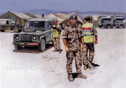 RAF Police Oman Ex SAIF SAREEA II