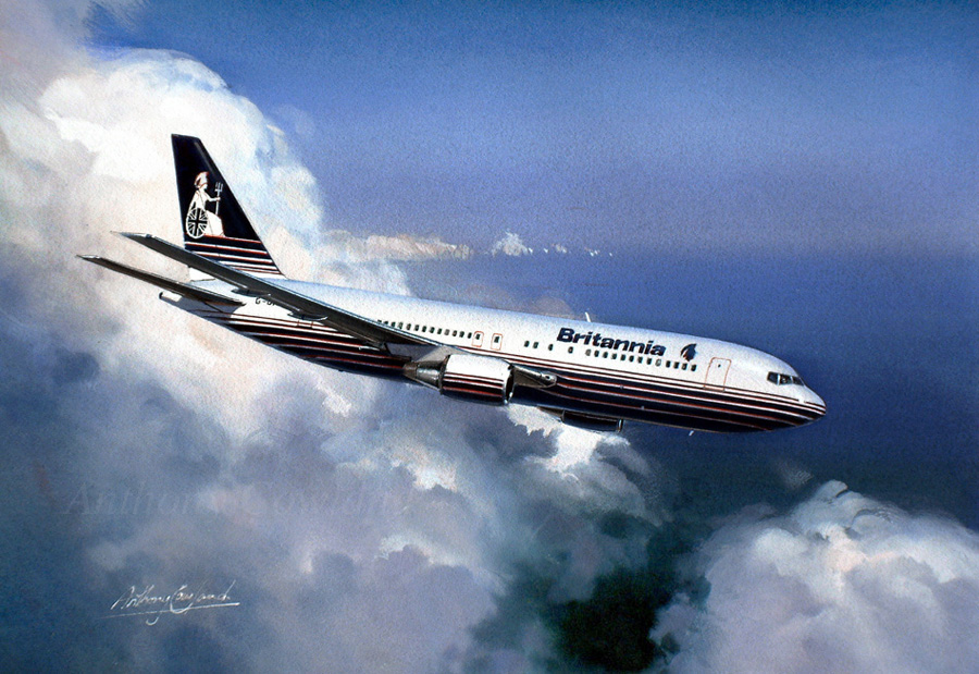 Boeing 767 Britannia Airways